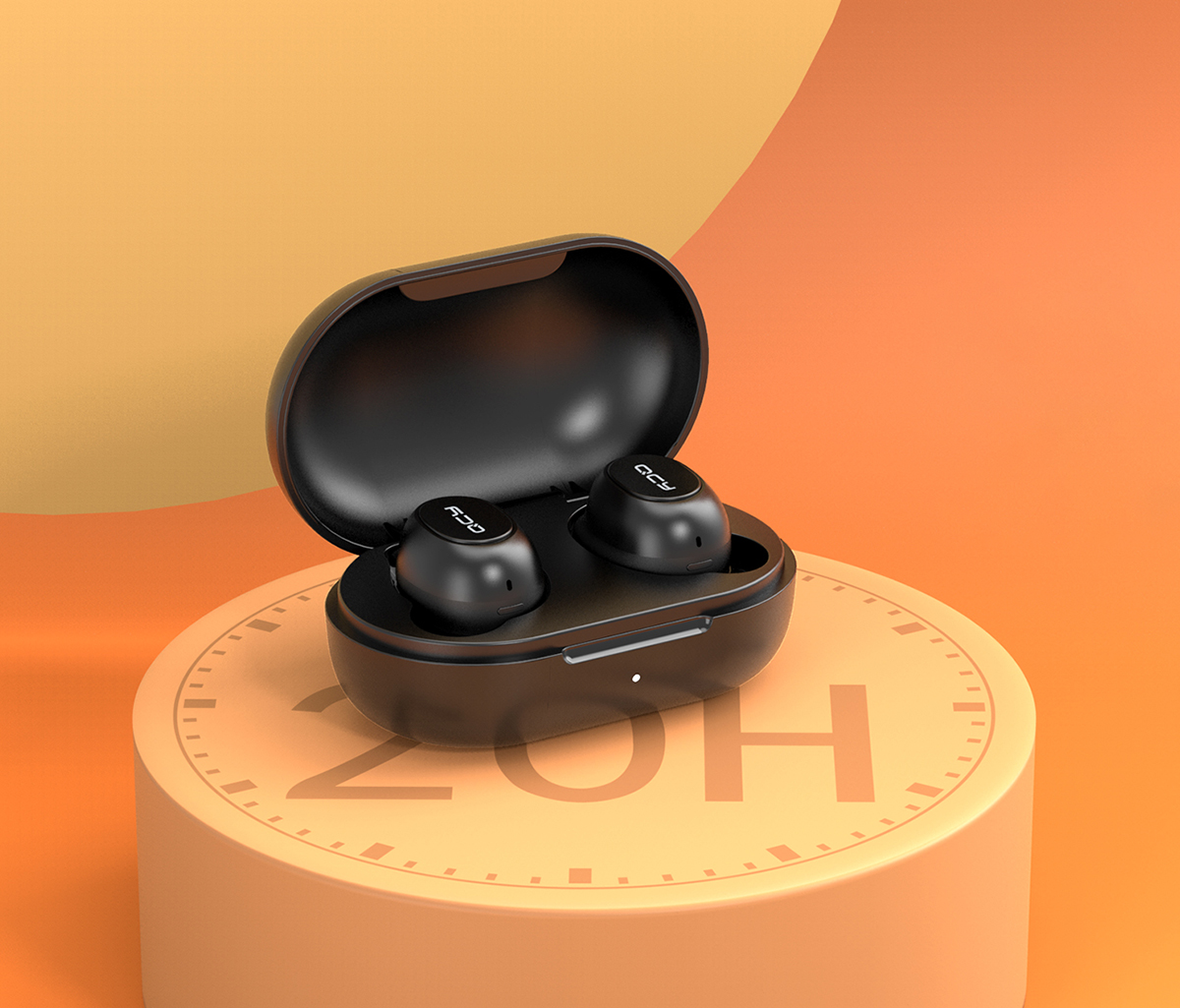 Безжични слушалки QCY T9, Bluetooth 5.0, TWS