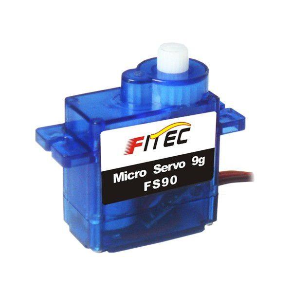 Серво FS90 (1.3kg/4.8V, 0.12s/60*)