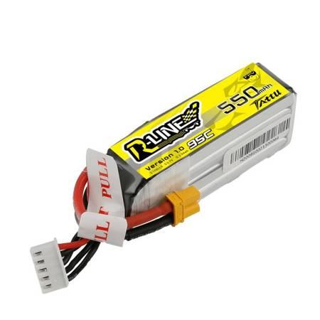 Батерия TATTU R-Line 550mAh 14.8V 95C 4S1P XT30