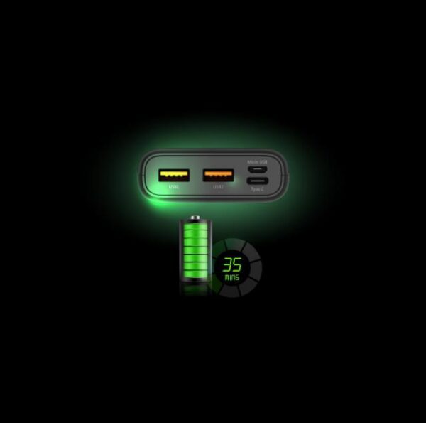 Външна батерия Silicon Power Powerbank Cell C10QC, 10000 mAh