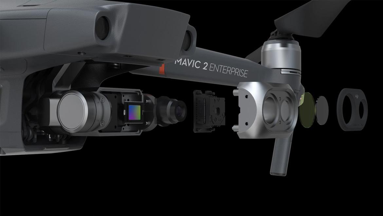 Дрон DJI Mavic 2 Enterprise Dual + Smart Controller
