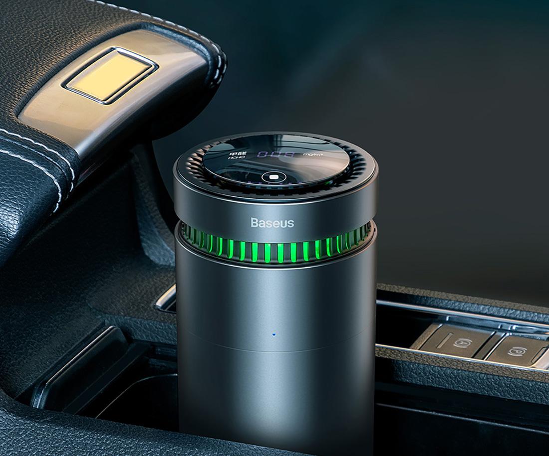 Автомобилен пречиствател за въздух Baseus с индикатор за формалдехид