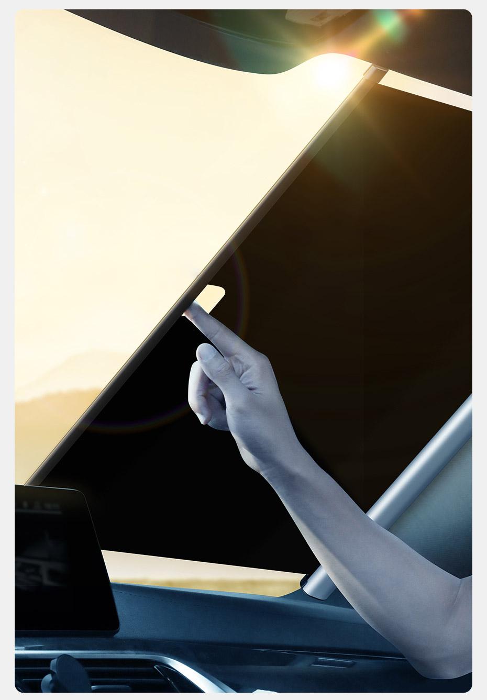 Drones.bg Сенник Baseus Auto close за предно стъкло на автомобил, до 58см