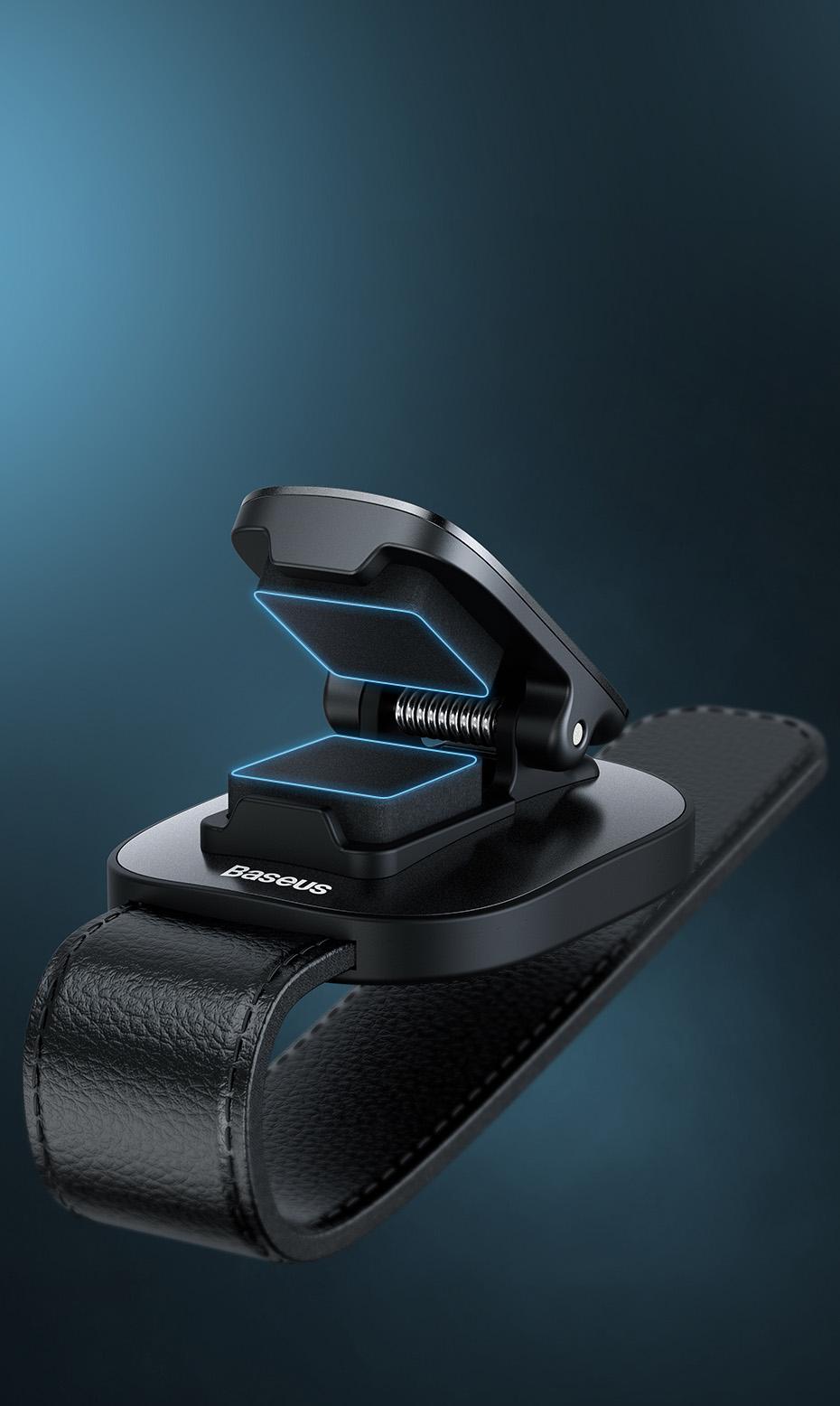 Drones.bg Щипка за очила Baseus Platinum за автомобил
