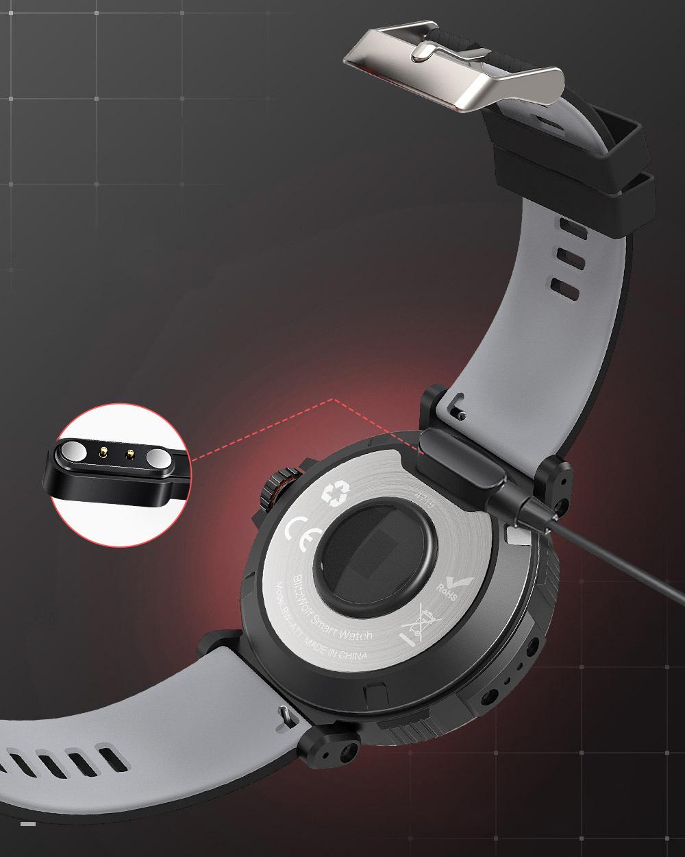Смарт часовник Blitz Wolf BW-AT1 Sport Bluetooth 5.0 (черен)