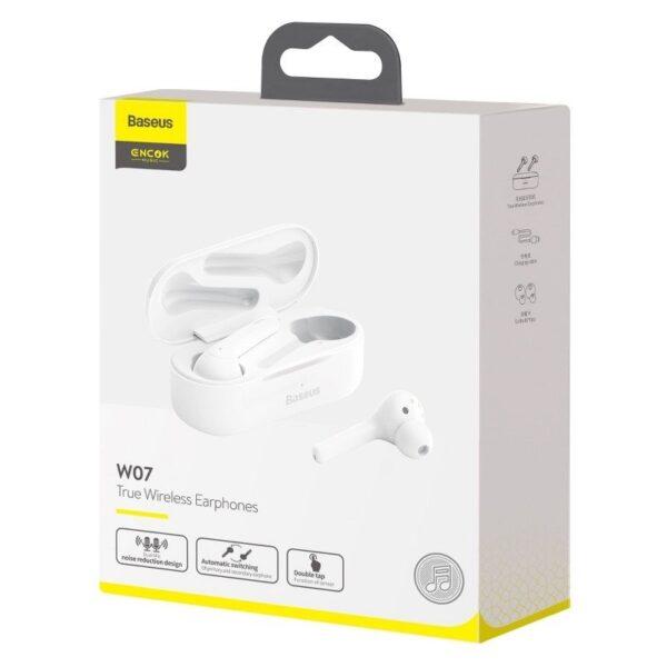 Безжични слушалки Baseus Encok W07