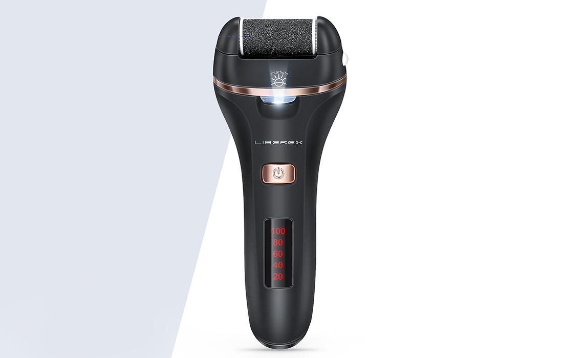 Електрическа пила за пети Liberex с LED дисплей