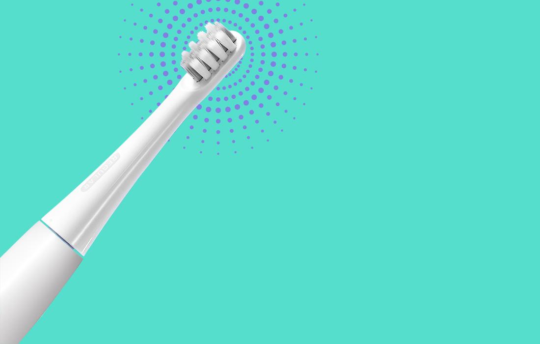 Ултразвукова четка за зъби Dr. Bei – GY1 (червено)