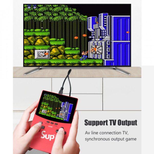 Преносима видео игра Sup Game Box 500 в 1 с вградена преносима батерия