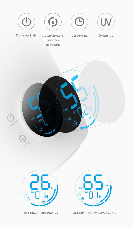 Ултразвуков овлажнител Xiaomi Deerma F628s