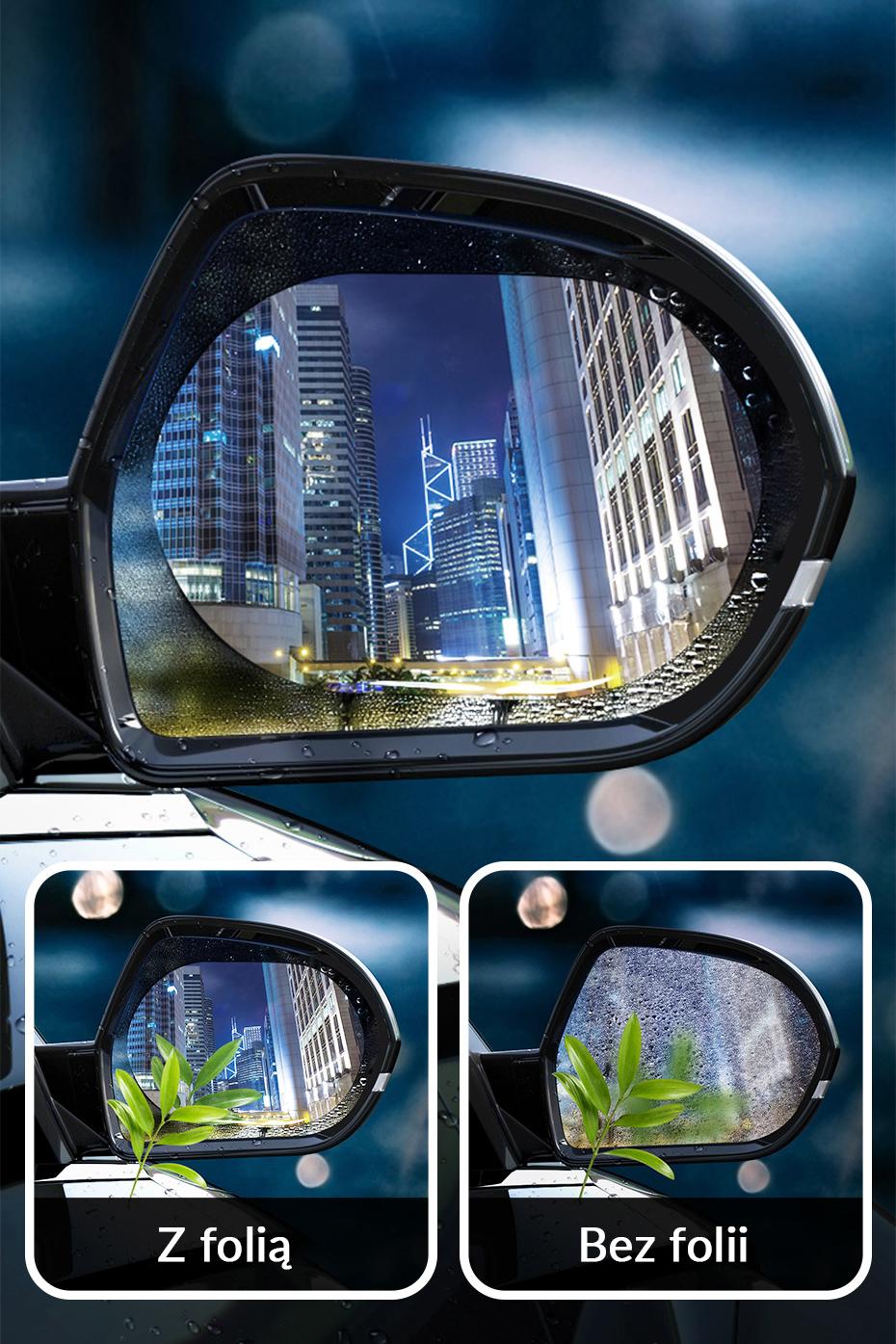 Drones.bg Фолио против замъгляване на огледалото Baseus 2 бр.