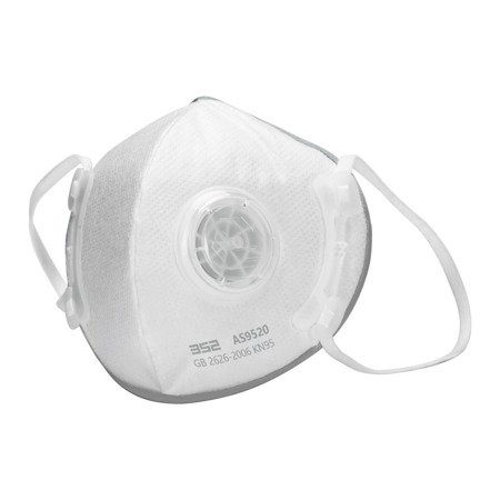 Четирислойна маска с респираторен клапан