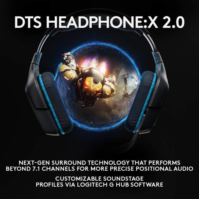 Drones.bg Геймърски слушалки Logitech G432, Микрофон