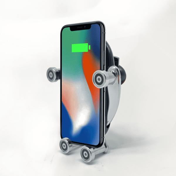 Електрическа стойка за смартфон K86 с безжично зареждане