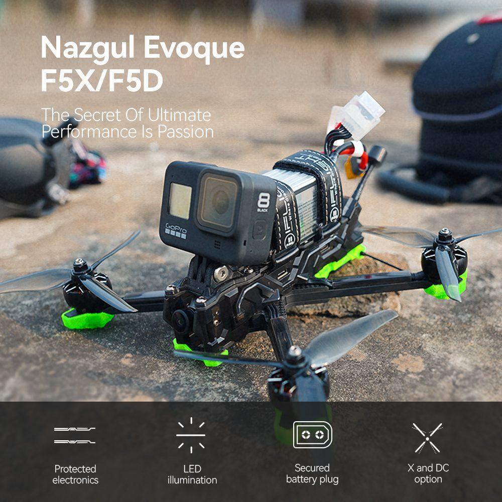 Nazgul Evoque F5 + Caddx Polar Vista HD Система