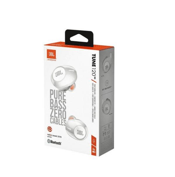 Блутут слушалки JBL Tune 120 TWS Бял